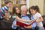 Senior Storytime for all ages with seniors & local preschoolers/Kindy Children (drop-in) (Trinity Lodge) @ Trinity Lodge