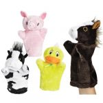 Barnyard Puppet Theatre (for ages 5-6 years old)