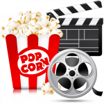 Movie, Popcorn & Charades (drop infor kids ages 7 plus)